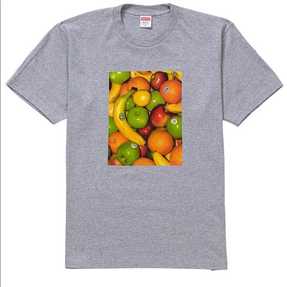 Supreme Other - Supreme Fruits Men's Tee Shirt Size XL Grey